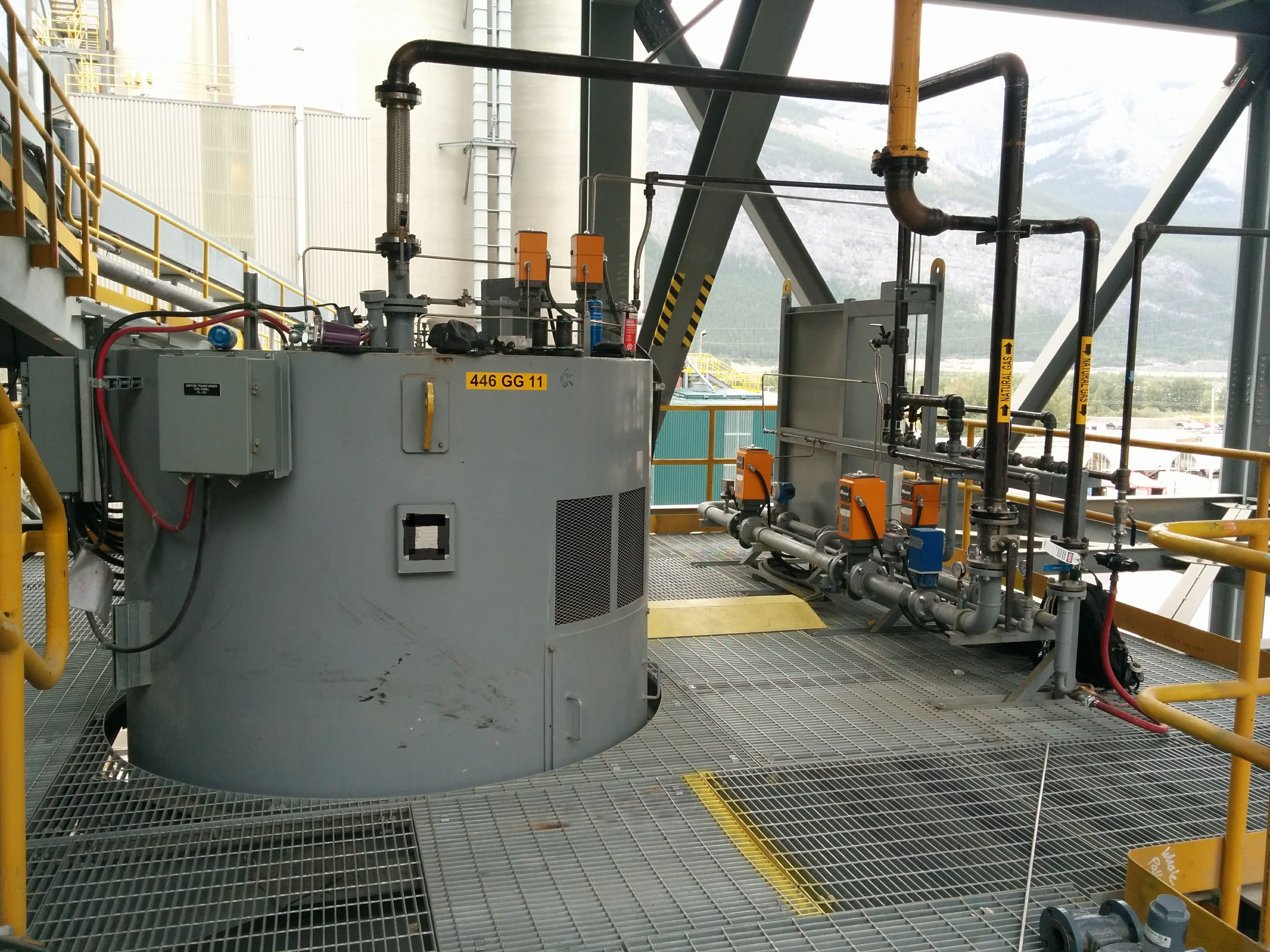 LafargeHolcim Cement Hot Gas Generator and Fuel Skid